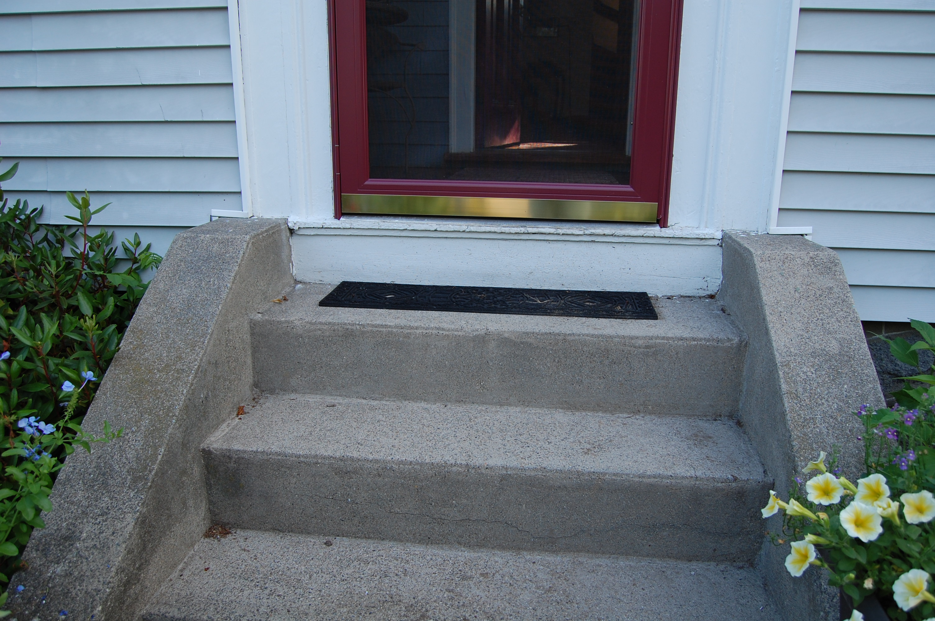 front step also wooden front door simplify front steps design ideas